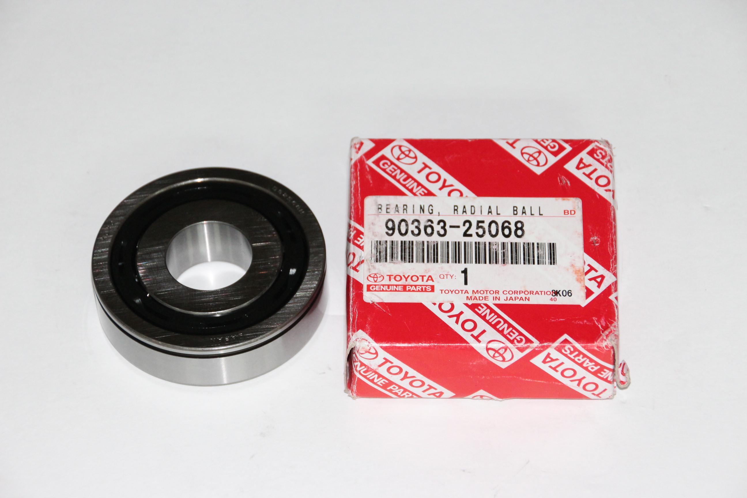 Подшипник КПП 90363-25068 90363-25092 Toyota Corolla, Auris, Verso 3000 руб.
